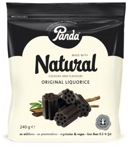 Panda All Natural lakrids 240 gr