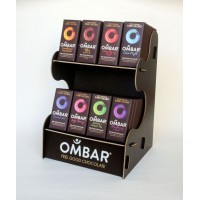 Ombar Display med 80 plader