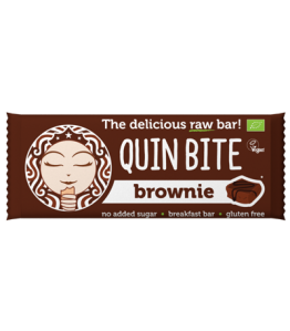 Quin bite Øko Brownie bar
