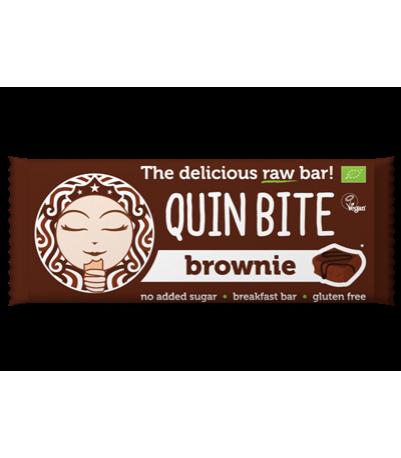 Quin bite Øko Brownie bar