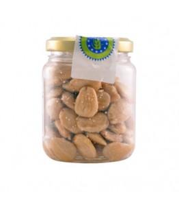 Økologiske saltede mandler 100 gr x 36