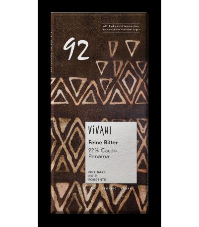 Vivani Chokolade 92% kakao øko