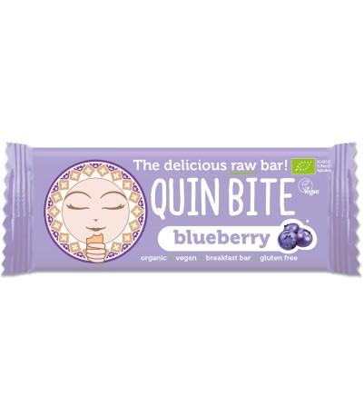 Quin bite Blåbær bar (muffin)