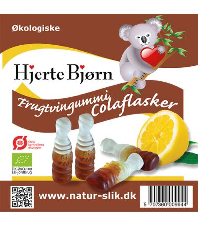 Frugtvingummi colaflasker Øko