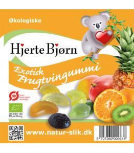 Øko exotisk frugtvingummi 100 gr