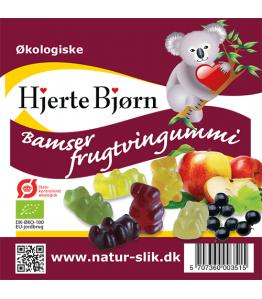 Øko frugtbamser mini 20 g x100 stk