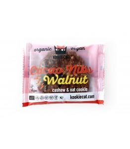 Kookie Cat Kakao nibs & valnød Øko