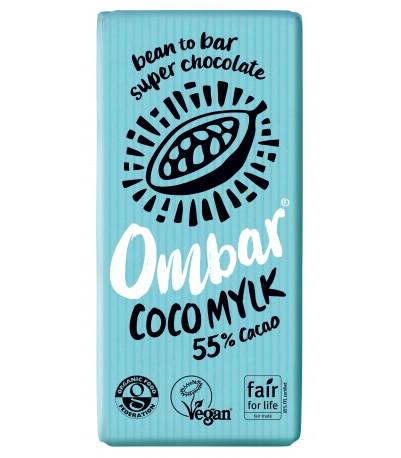 Ombar Kokos Mylk Øko chokolade 70 gram