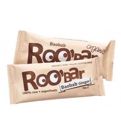 Roobar baobab & Ingefær 30 g x 20