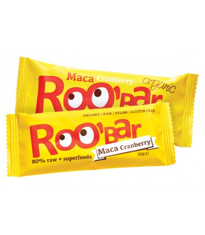 Roobar Maca og tranebær 30 g x 20