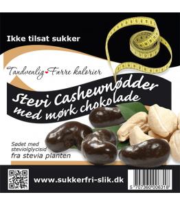 Stevi Cashewnødder med mørk chokolade
