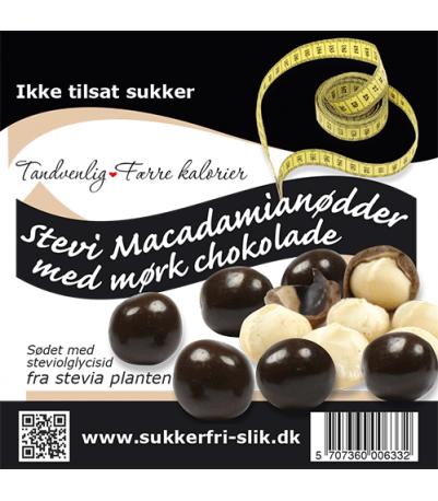 Choko Macadamianød (Ikke tilsat sukker)