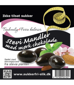 Choko mandler  (Ikke tilsat sukker)
