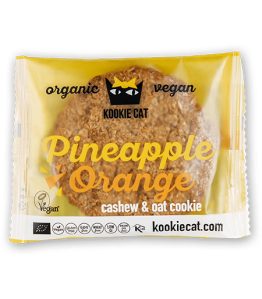 Kookie cat Øko Ananas-appelsin