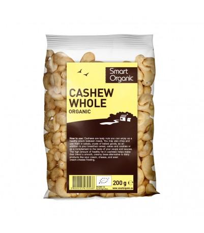 Cashewnødder hele 200 gr øko