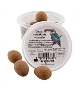 Choko salt lakrids-mandler 70 g