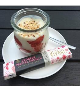 Vivani hvid jordbær crunch