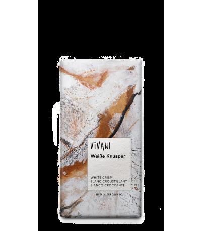 Vivani hvid crisp chokolade øko