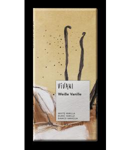 Vivani øko hvid chokolade mvanille 80g