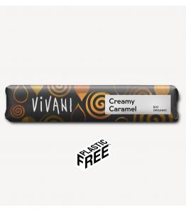 Vivani creamy caramel Ø 40 g Økologisk